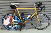 Kさまデザイン+出力+施工依頼-ロードバイクにて 西住姉妹仕様