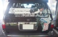 Sさま出力+デザイン+施工依頼-トヨタハイラックスサーフにてムルメルティア 仕様
