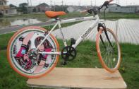 Kさま出力依頼-ロードバイク:後輪ディスクホイール用にてオリジナル 仕様