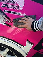 ボディの洗車・脱脂